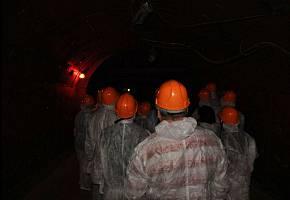 Экскурсия в противоядерное убежище под землёй