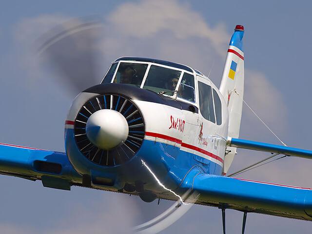 Купить Сертификат На Полет С Элементами Пилотажа На Самолете Як-18Т (30 Минут)