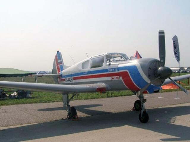 Купить Сертификат На Полет С Элементами Пилотажа На Самолете Як-18Т (40 Минут)